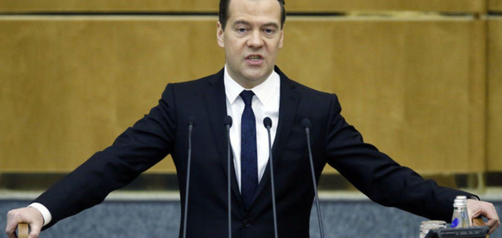 МИД направил гневную ноту России из-за Медведева в Крыму