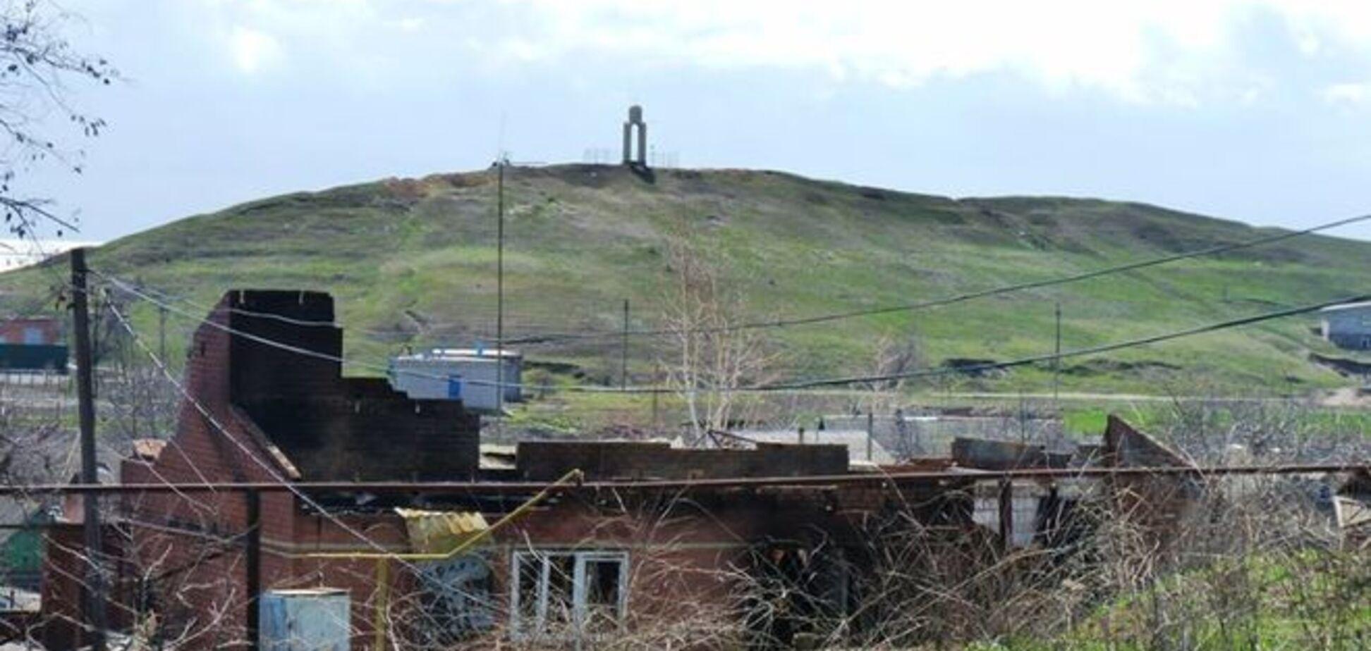 В Минобороны показали руины Широкино: фотофакт