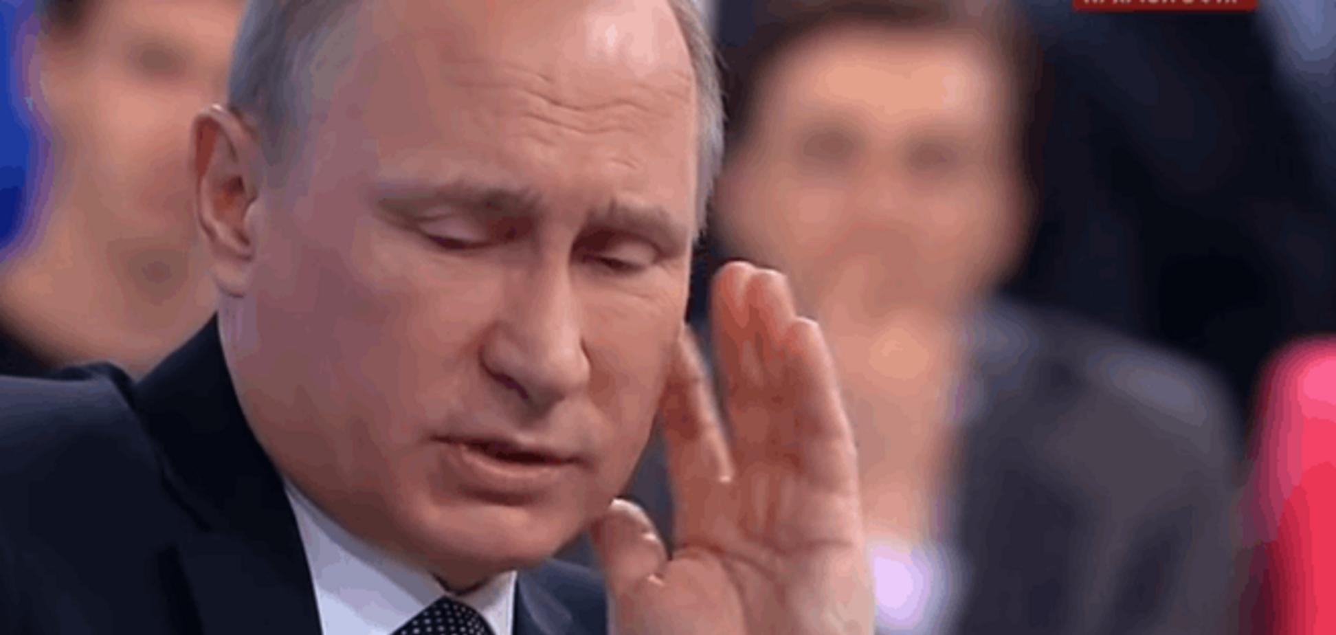 'Помедленней, я записываю': новое смешное видео про Путина