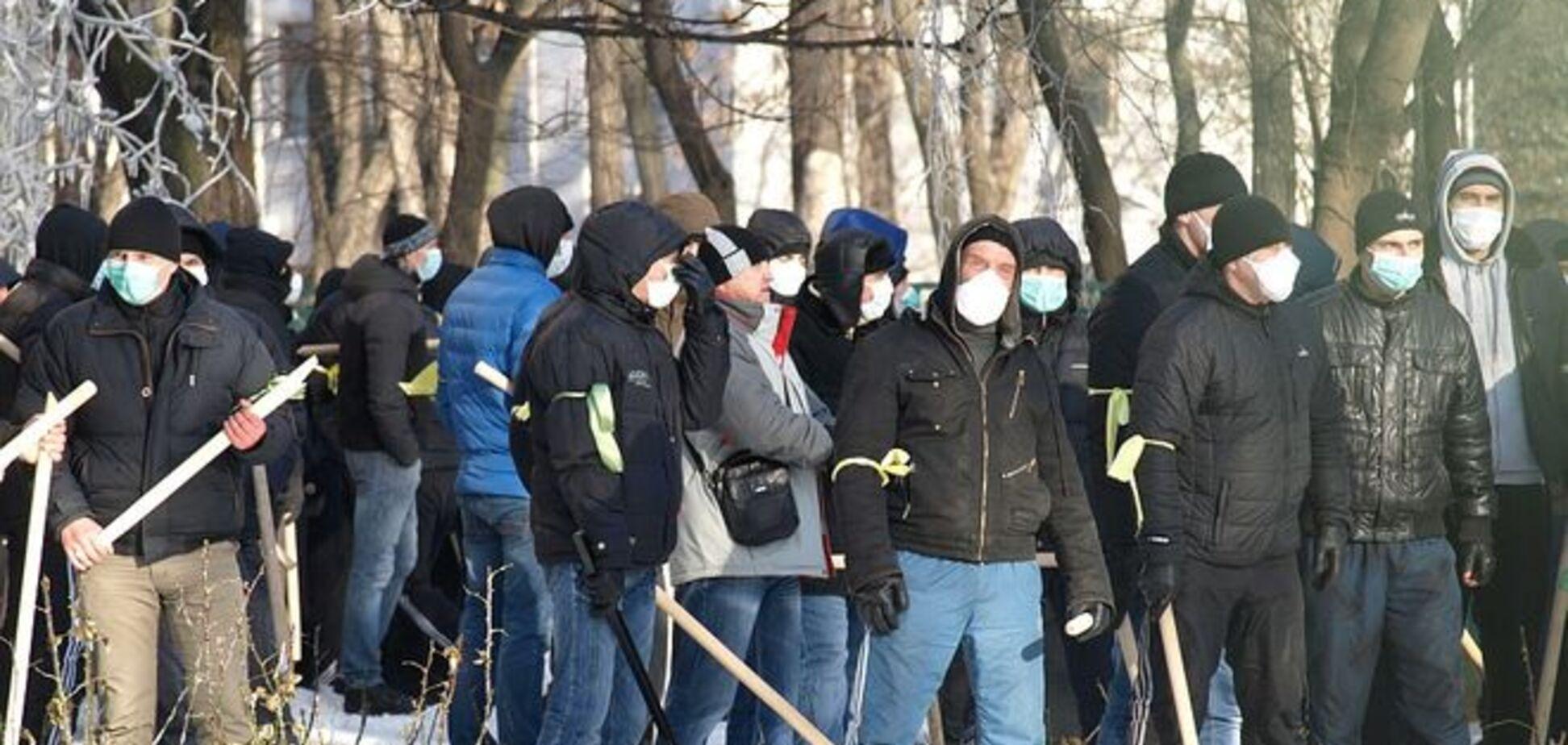 ГПУ підозрює чотирьох 'тітушек' у побитті майданівців