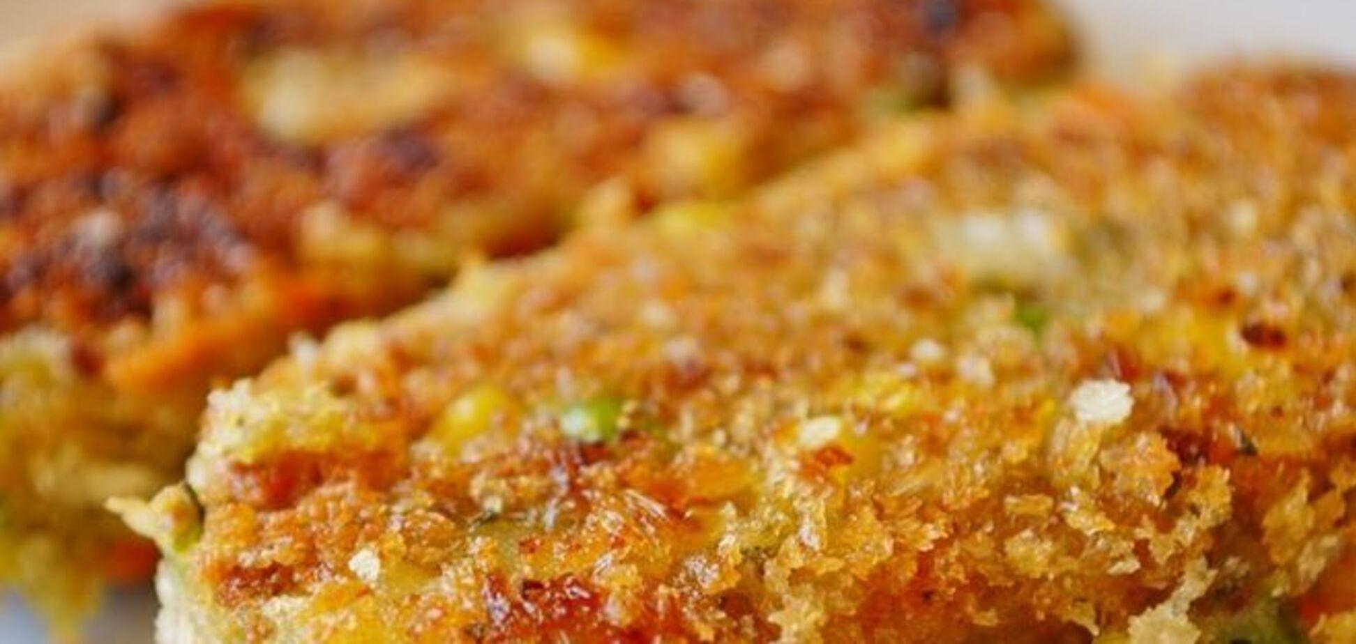 Рецепт вкусных овощных котлет