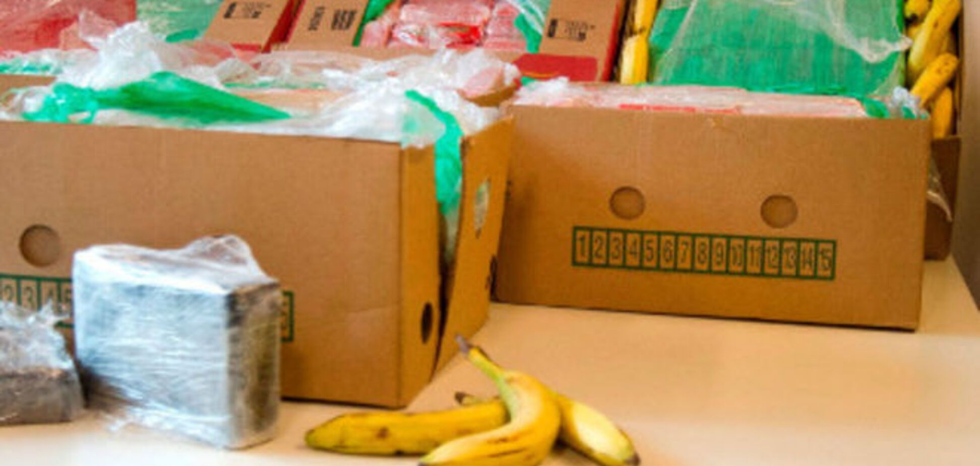 В парижский 'Ашан' вместо бананов завезли кокаин