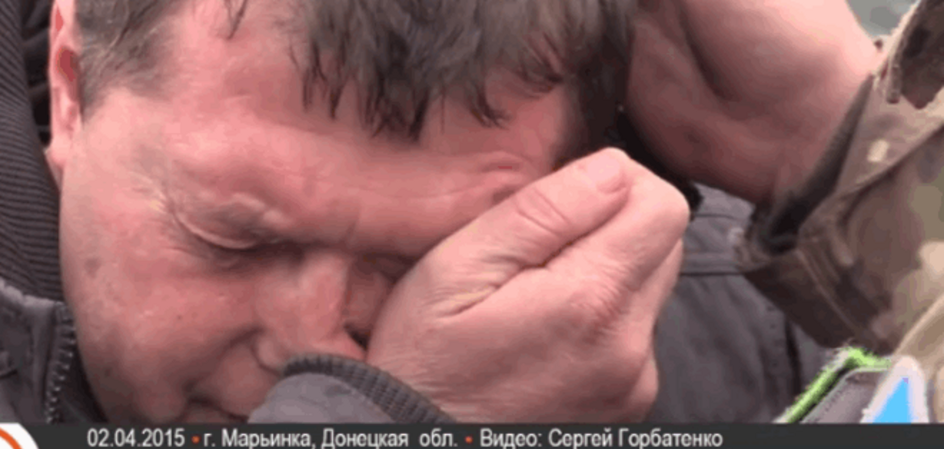 Волонтер, повернувшись з полону 'ДНР', плаче і втрачає свідомість: я випробував пекло