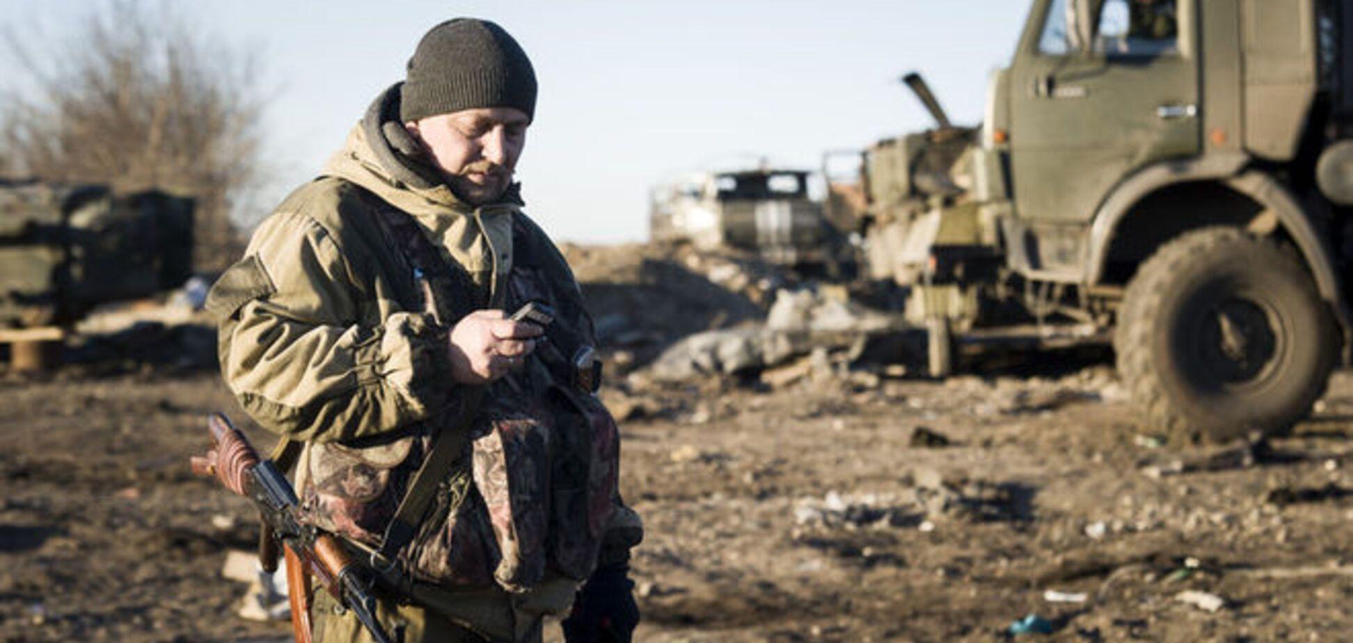 Терористам на Донбасі наказали економити боєприпаси і пальне