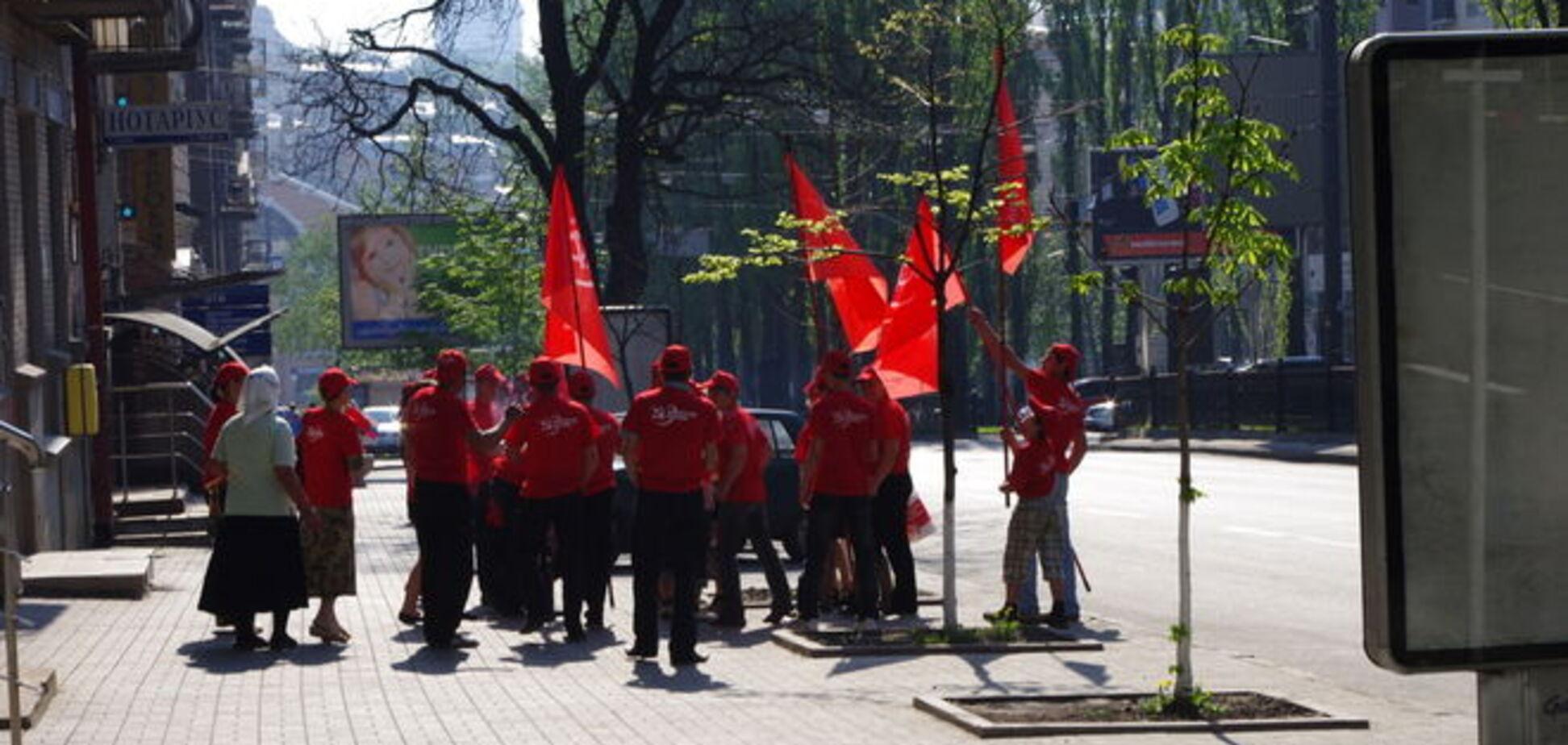 СБУ запобігла провокації в Києві на травневі свята і попередила комуністів