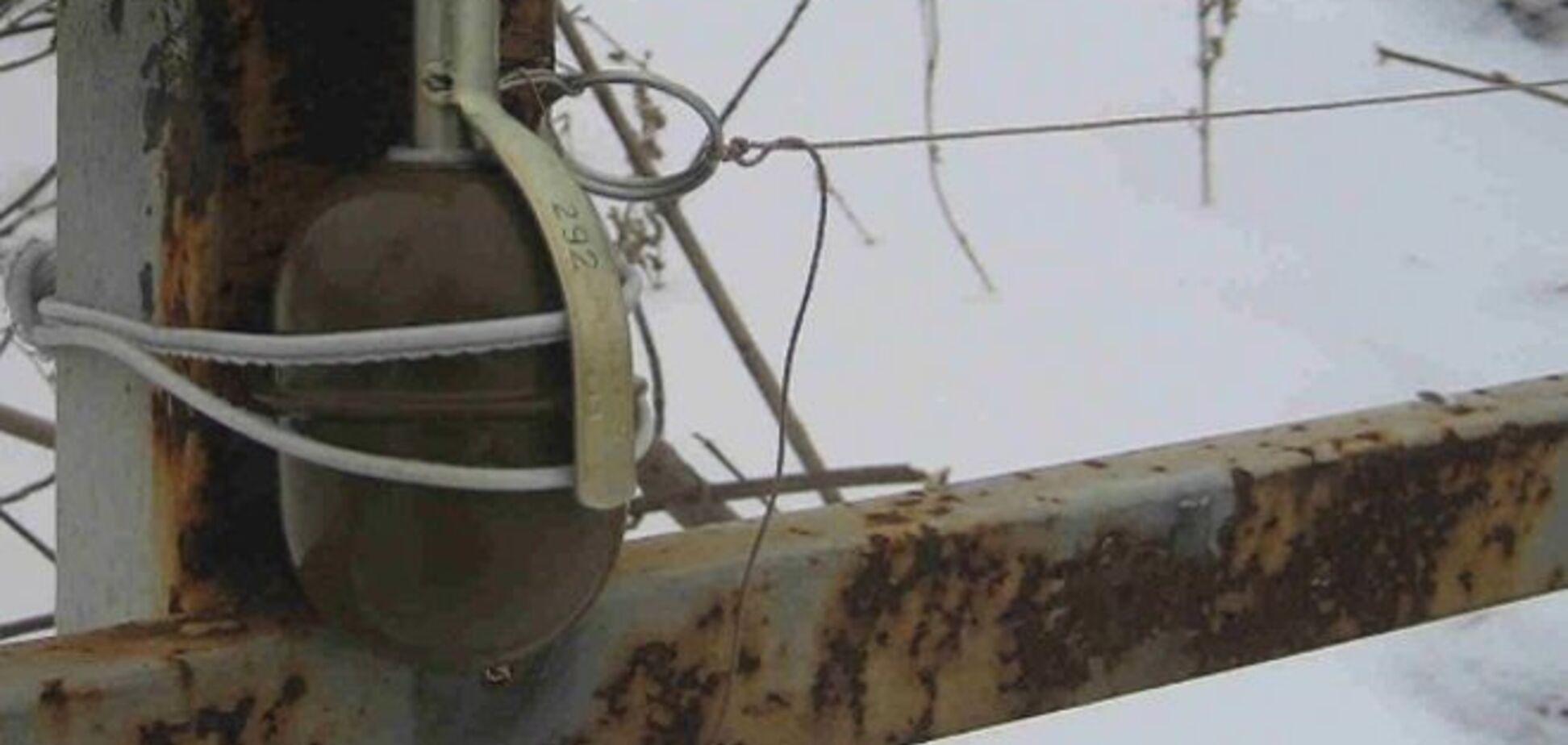 На растяжке в Луганской области подорвался мирный житель