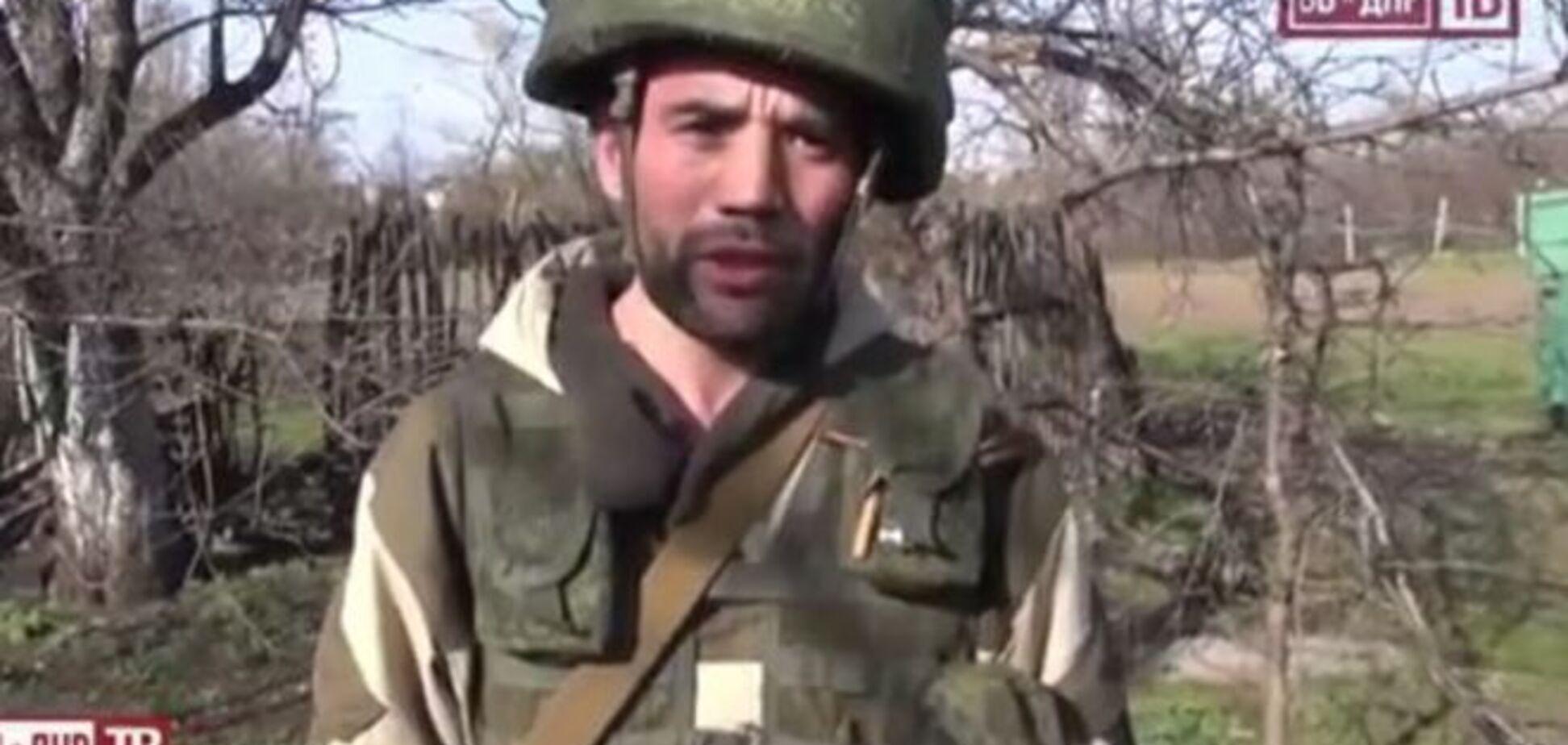 Найманець 'Узбек' приїхав на Донбас за 'укрофашистами', у яких 'незрозумілий' Бог: опубліковано відео
