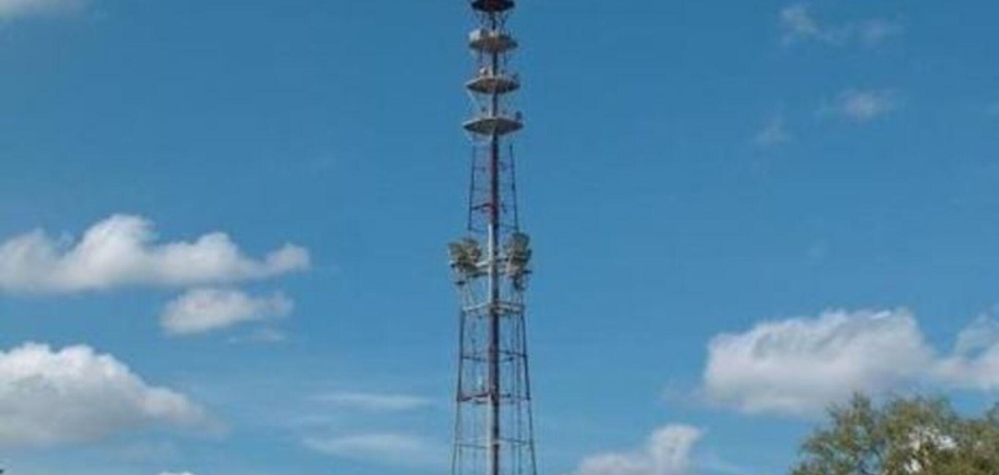На Донбассе установили радиомачту, которая может заглушить телеканалы террористов