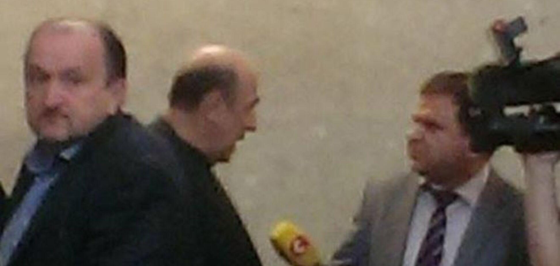 Суд идет: поддержать Фирташа прибыли Рабинович, Левочкина и Суркис: фотофакт