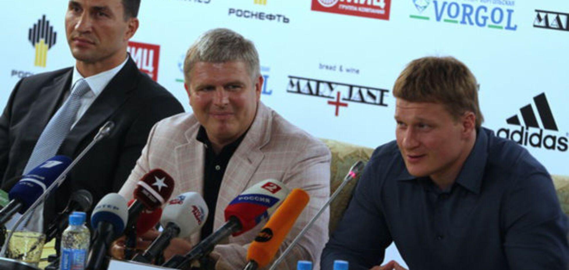 В России болезненно реагируют на реванш Кличко - Поветкин