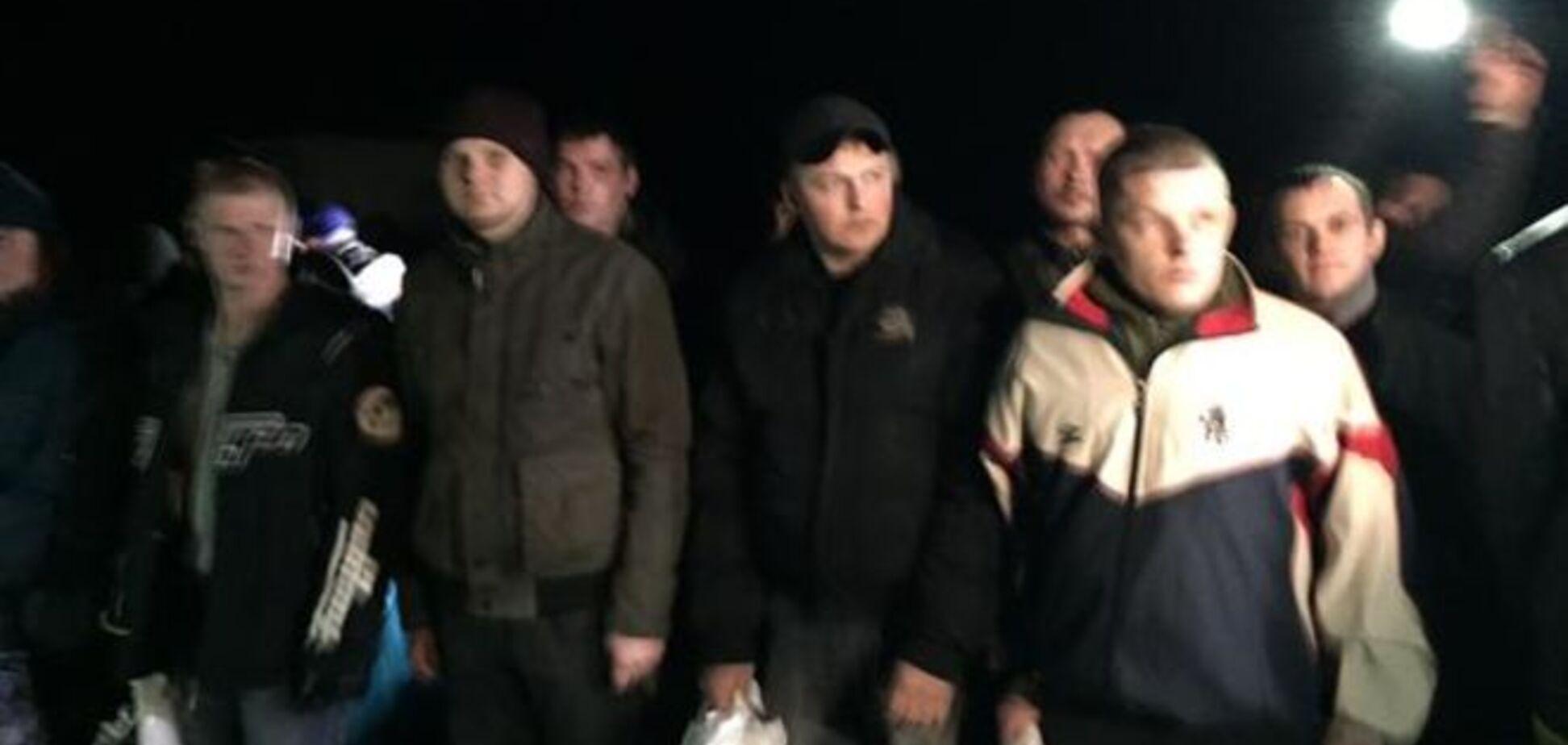 Опубліковані фото бійців АТО, звільнених з полону терористів