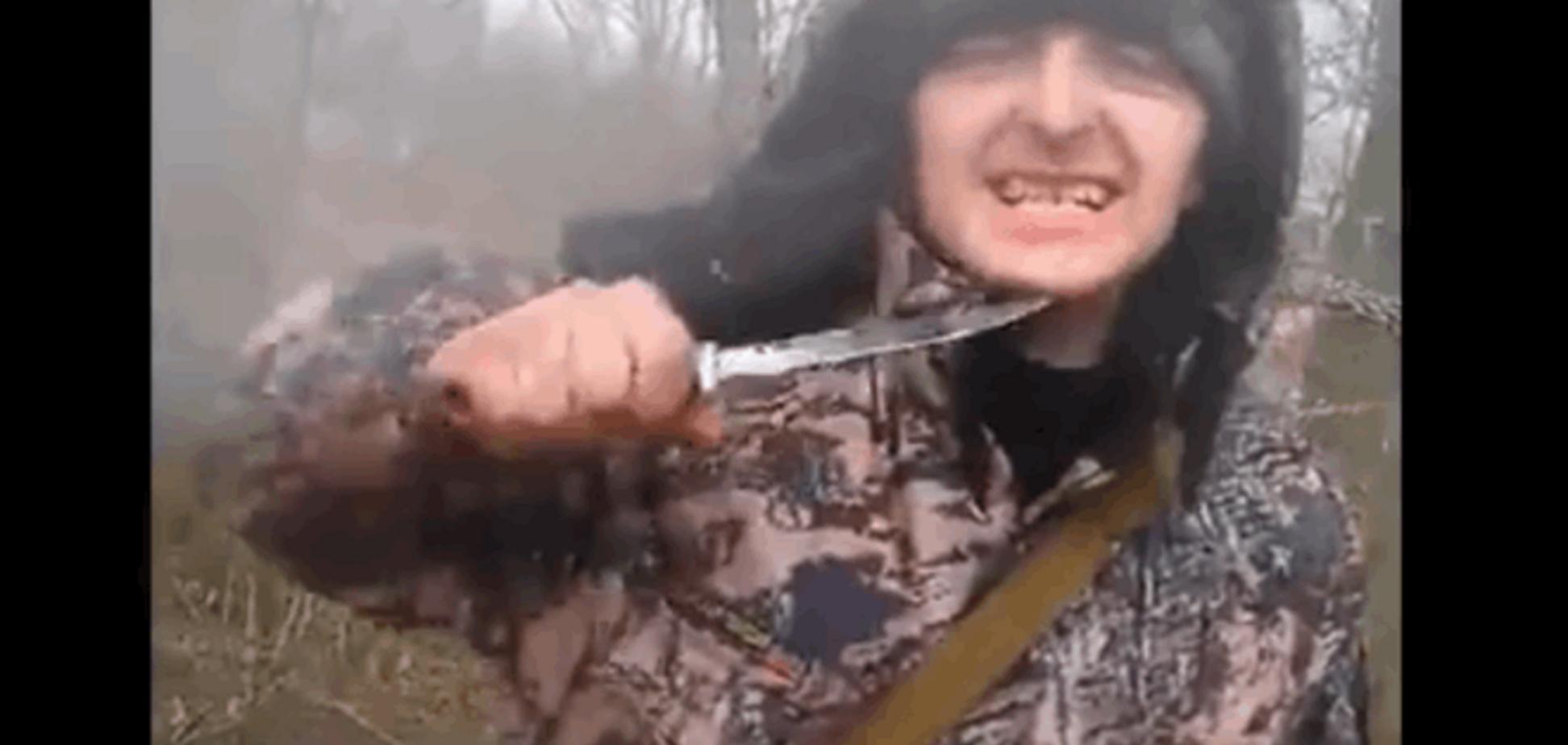 Терористи 'ДНР' їдять собак: опубліковано шокуючі відео