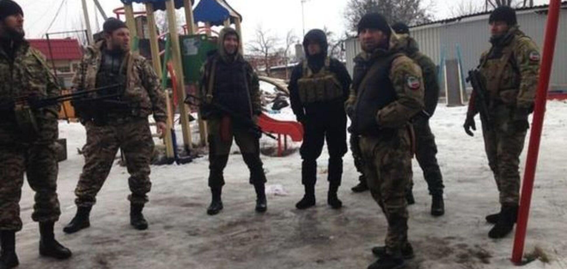 На Донбас прибули чеченці для зачистки ватажків 'диких' бойовиків
