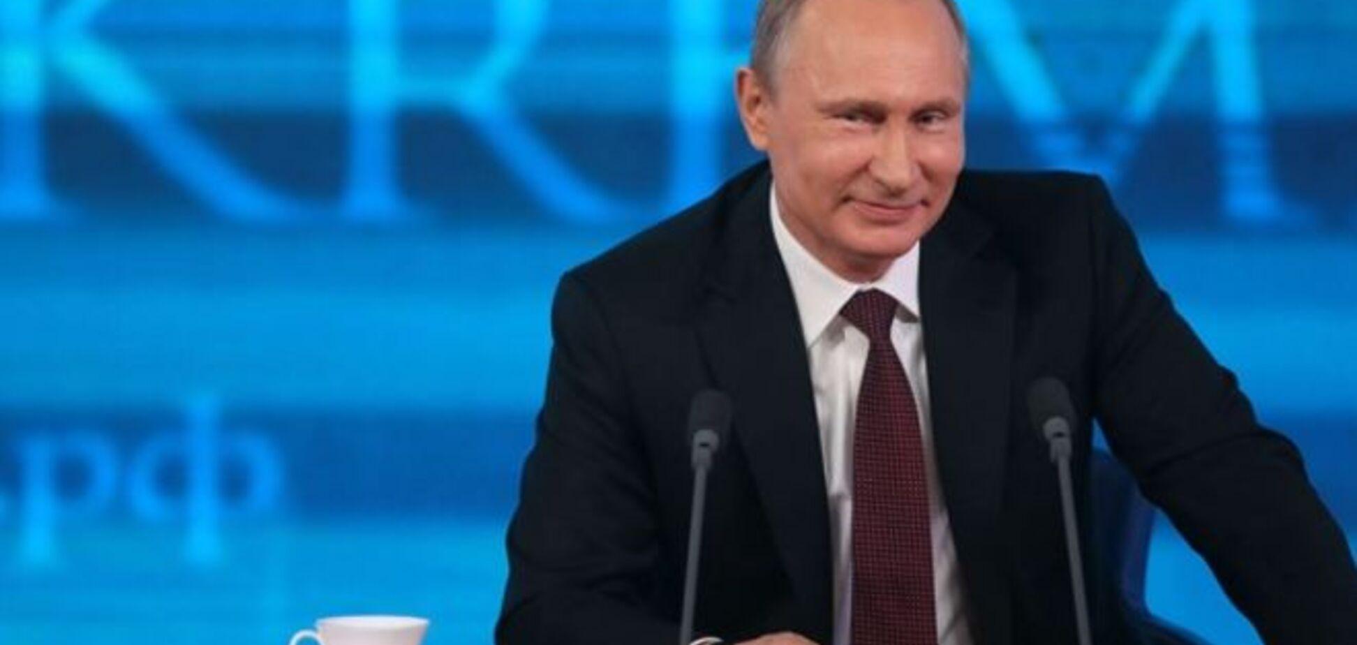 Путин потратил на 'новую версию' своего сайта 20 млн бюджетных рублей