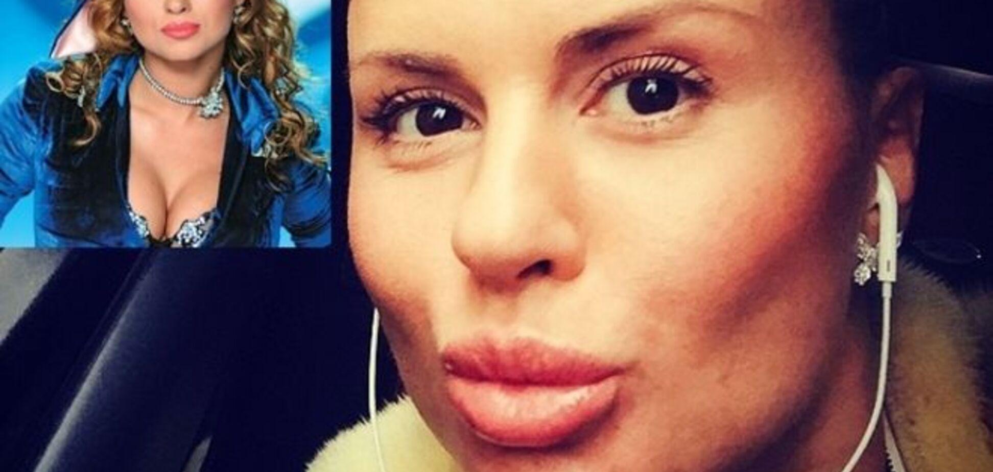 Анна Семенович показала 'мордаху' без макияжа и 'плоский' живот