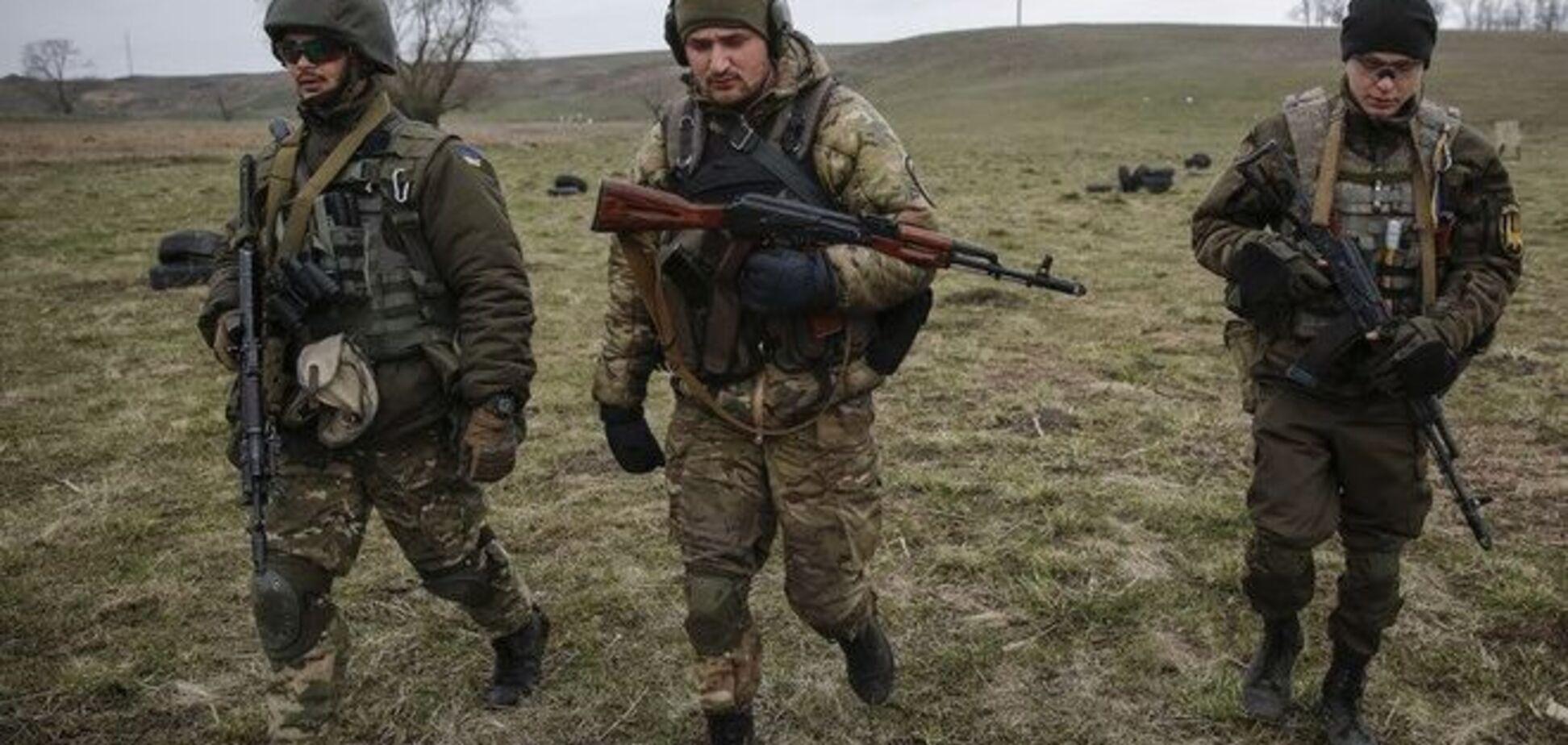 Бійці АТО знищили казарму терористів в Широкине