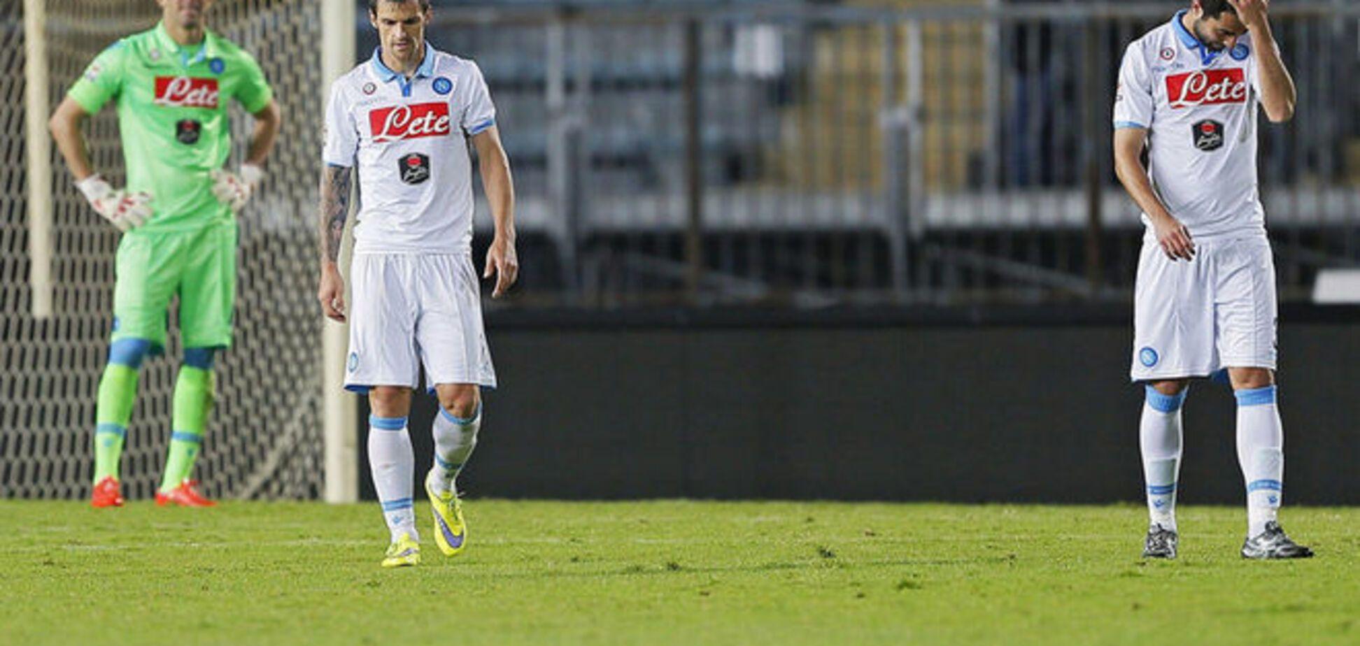 Соперник 'Днепра' опозорился в чемпионате Италии