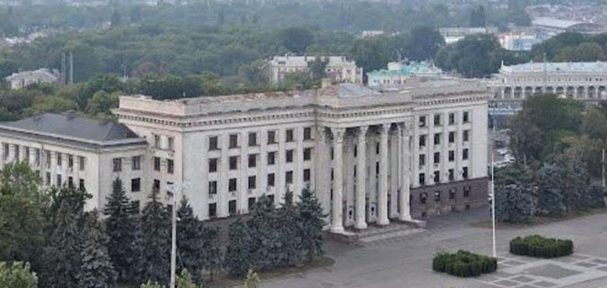 В Одессе 'заминировали' Дом профсоюзов: милиция ищет бомбу