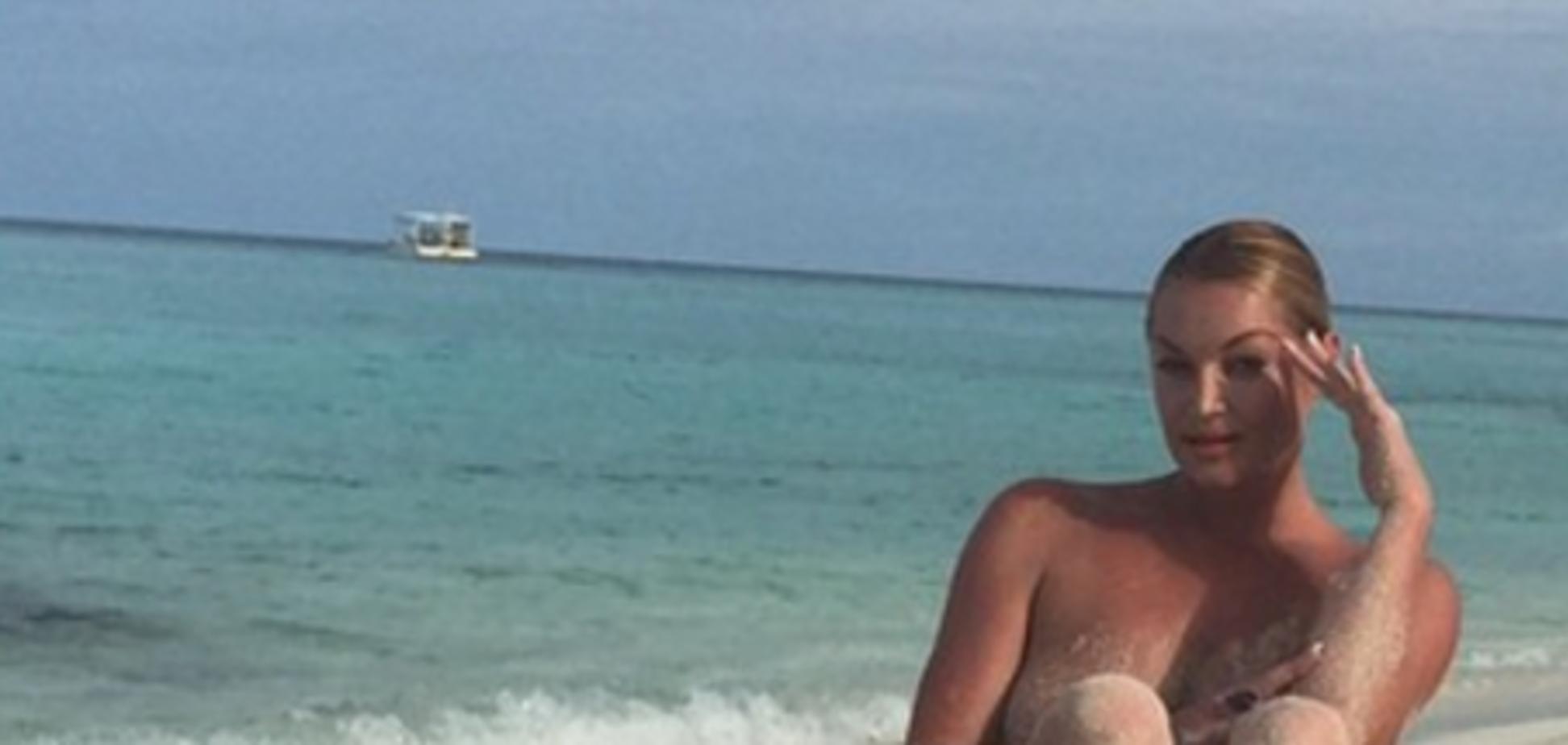 Анастасия Волочкова попала в 'тропическое ДТП'