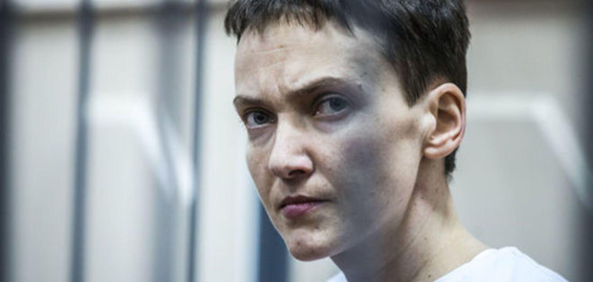 Сестра Савченко підтвердила, що Надія припинила голодування