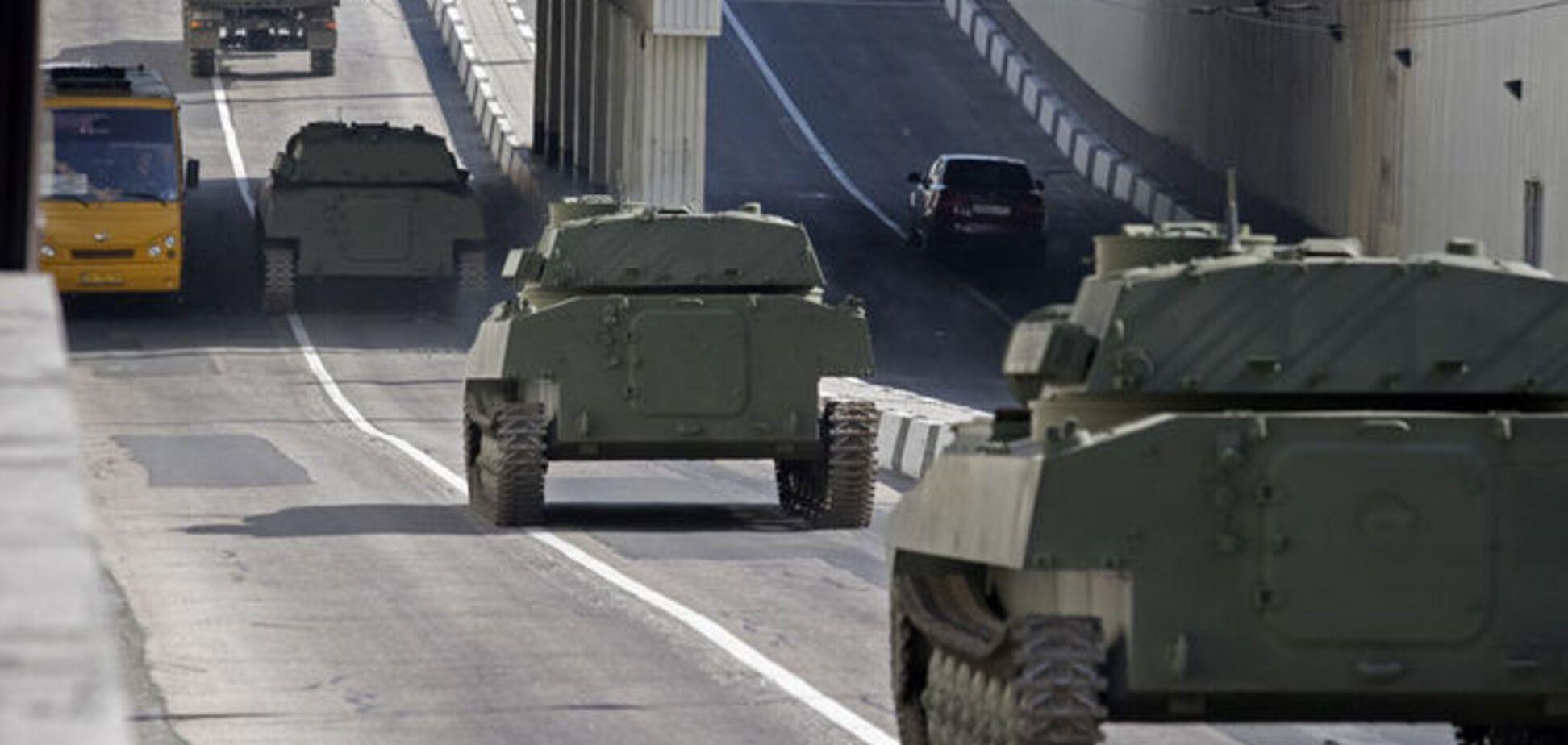 Жители Донбасса сдают силам АТО позиции техники террористов