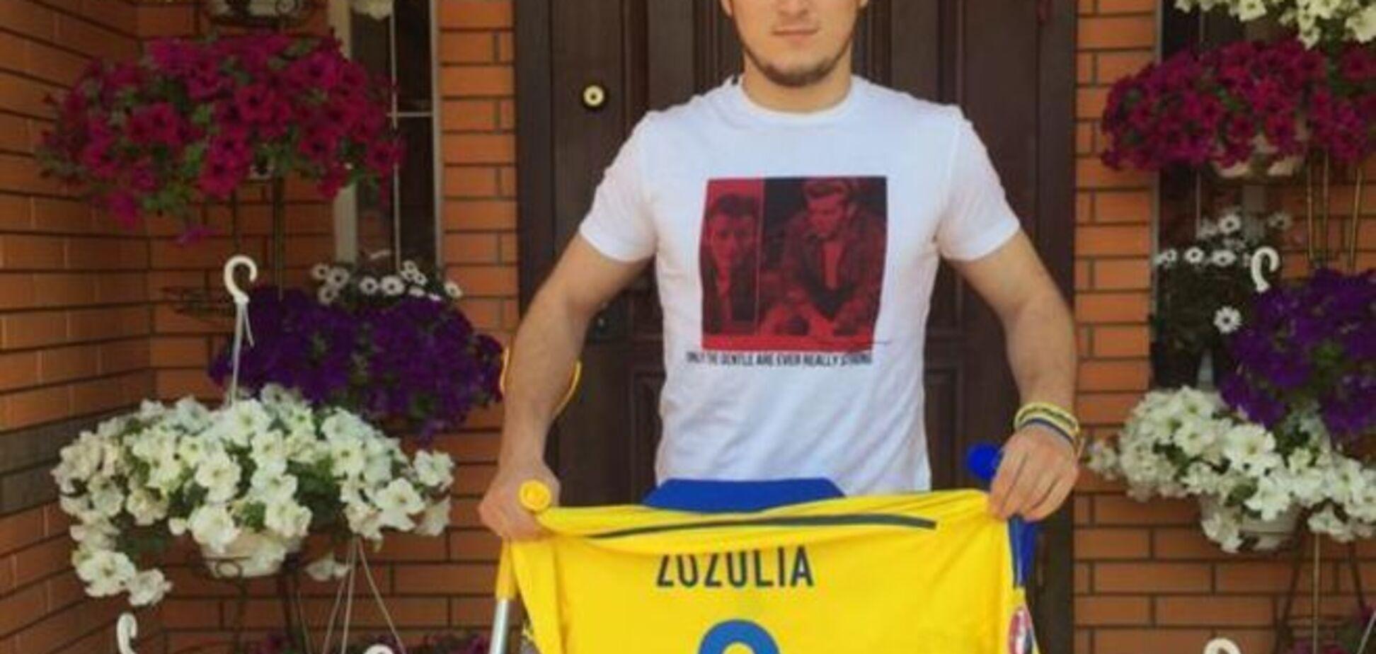 Футболист 'Днепра' отдаст все деньги на АТО