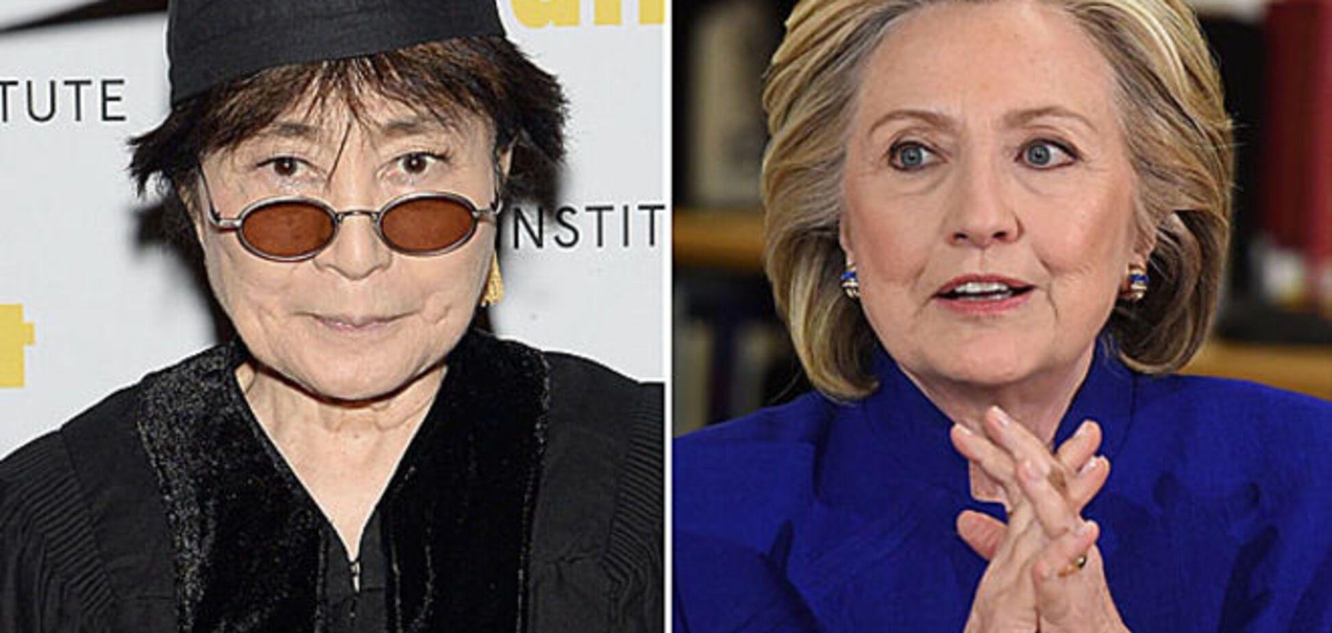 Роман Йоко Оно и Хиллари Клинтон оказался фейком