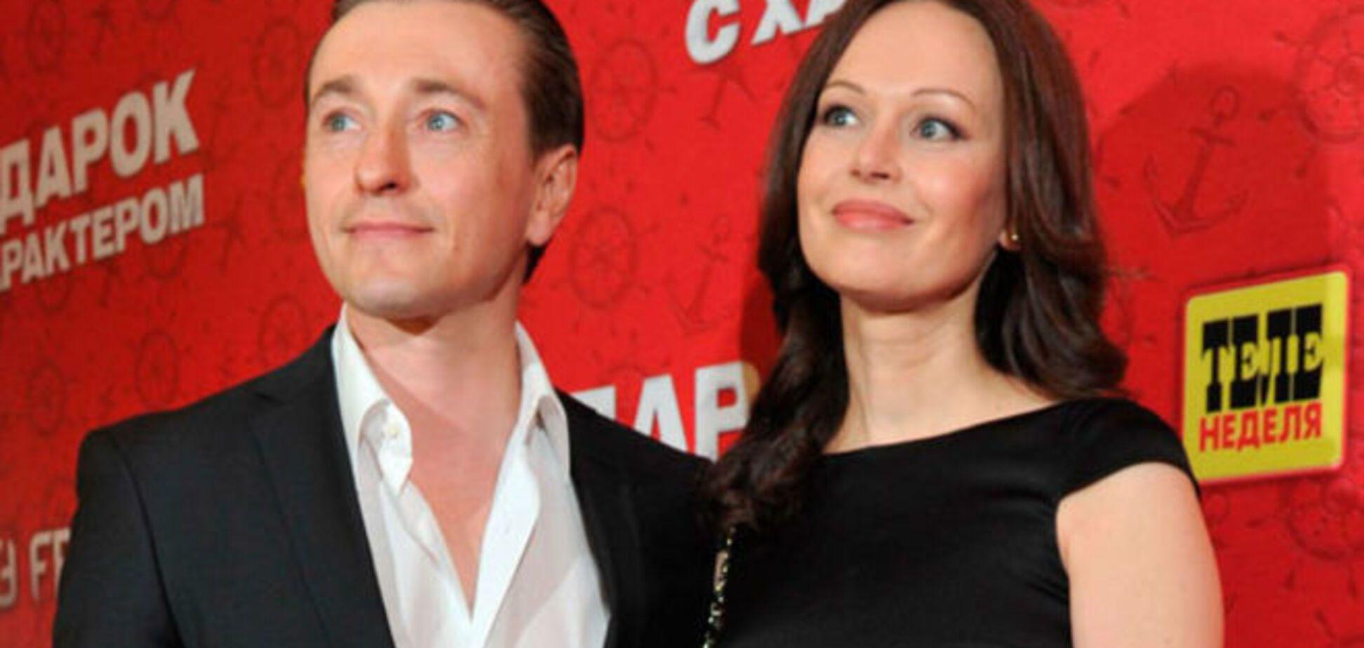 Сергей Безруков бросил жену после 15 лет брака - СМИ