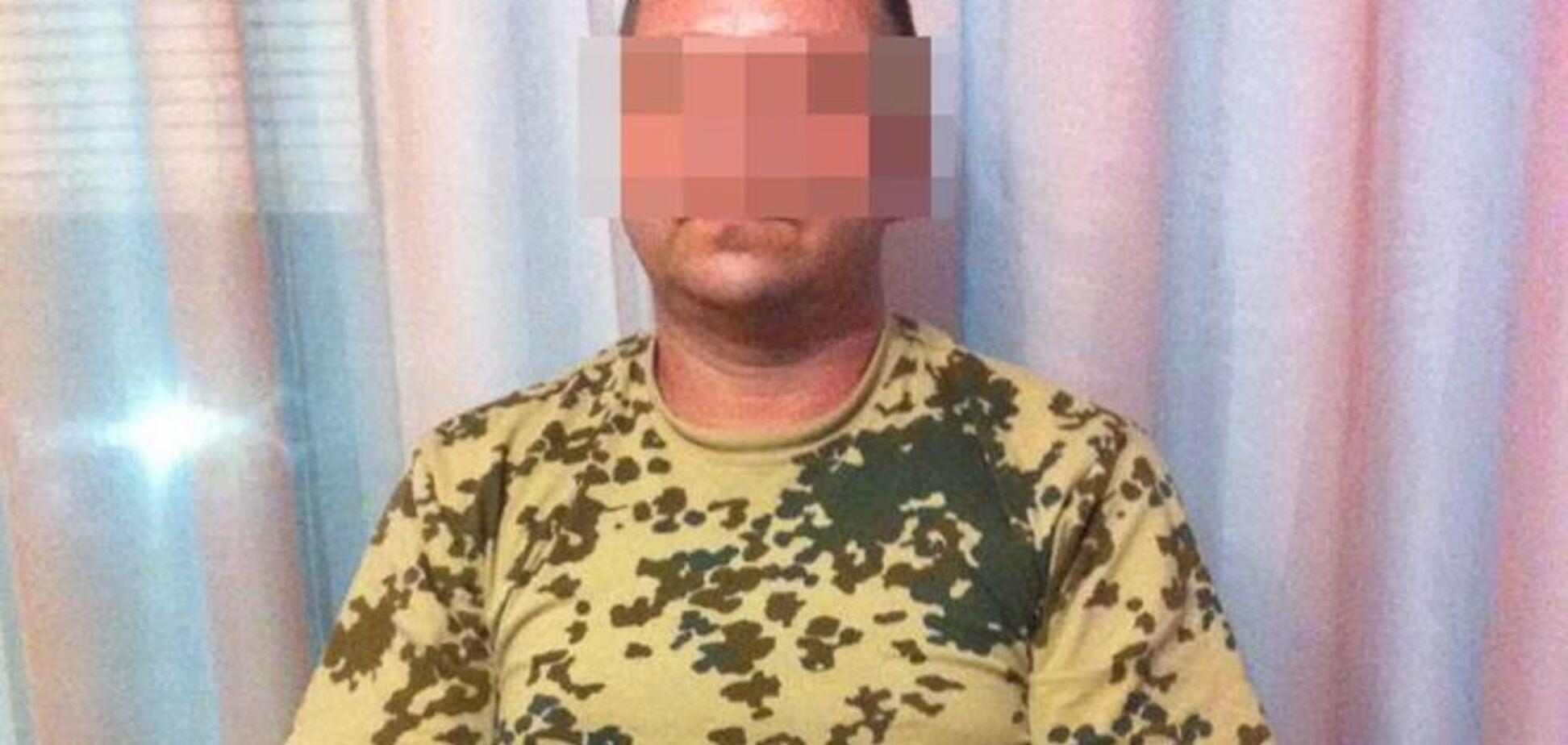 Ватажка 'харківських партизанів' -терористів взяли під варту: фото диверсанта