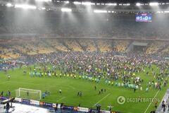 УЕФА может серьезно наказать 'Днепр' и дисквалифицировать 'Олимпийский'