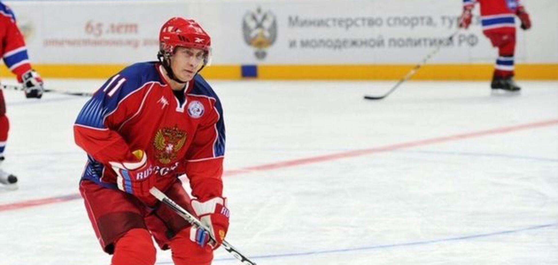 Путин готовится сыграть в хоккей