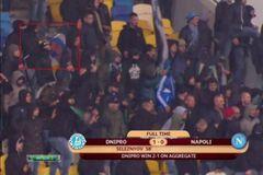 Фанаты 'Наполи' спровоцировали болельщиков 'Днепра' российским флагом - СМИ