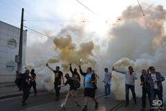 Милиция задержала 19 фанатов с битами после матча 'Днепра'
