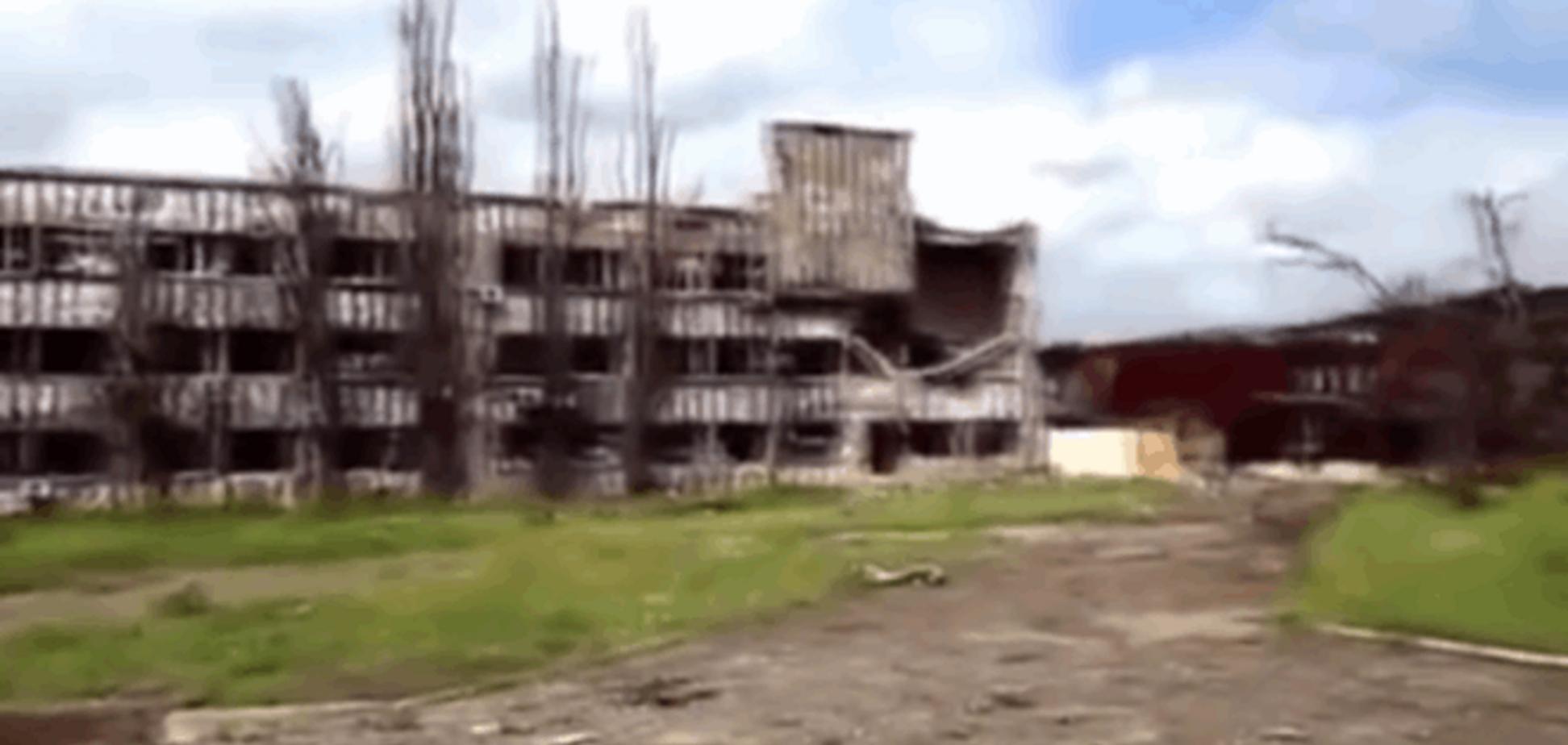 Весна среди руин: новое видео разрушенного донецкого аэропорта