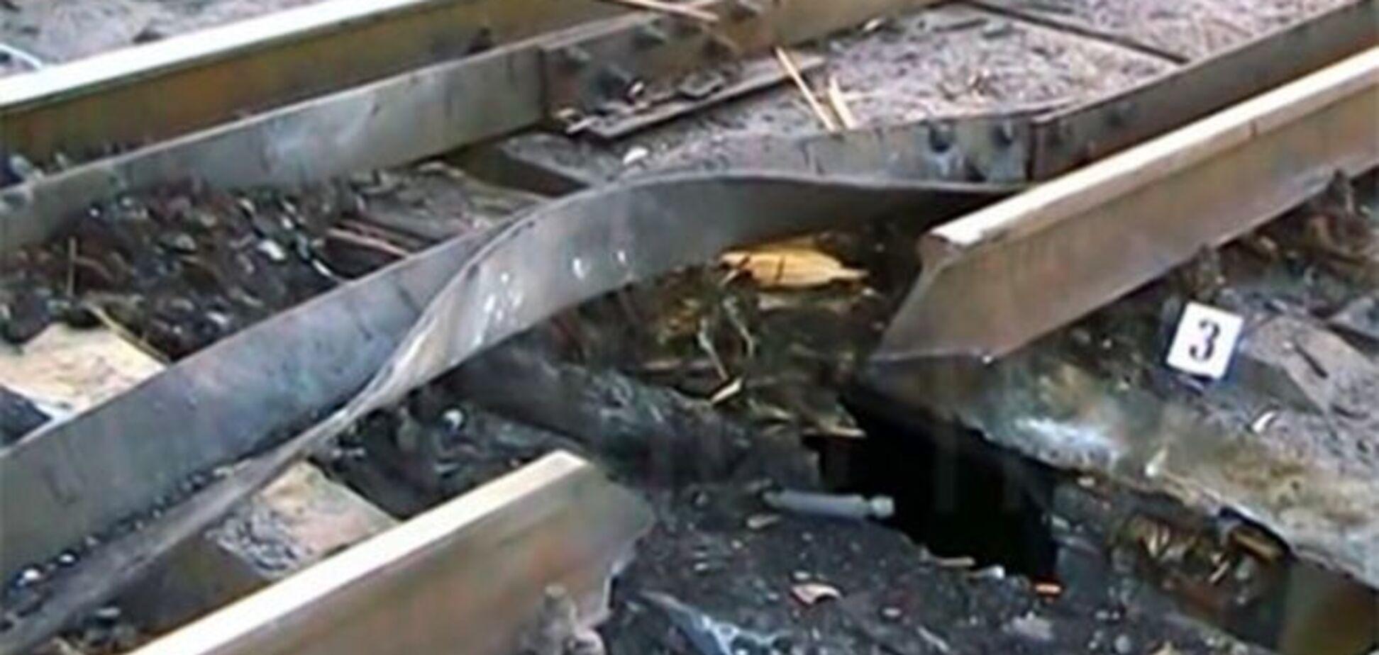 На Луганщині диверсанти підірвали залізницю