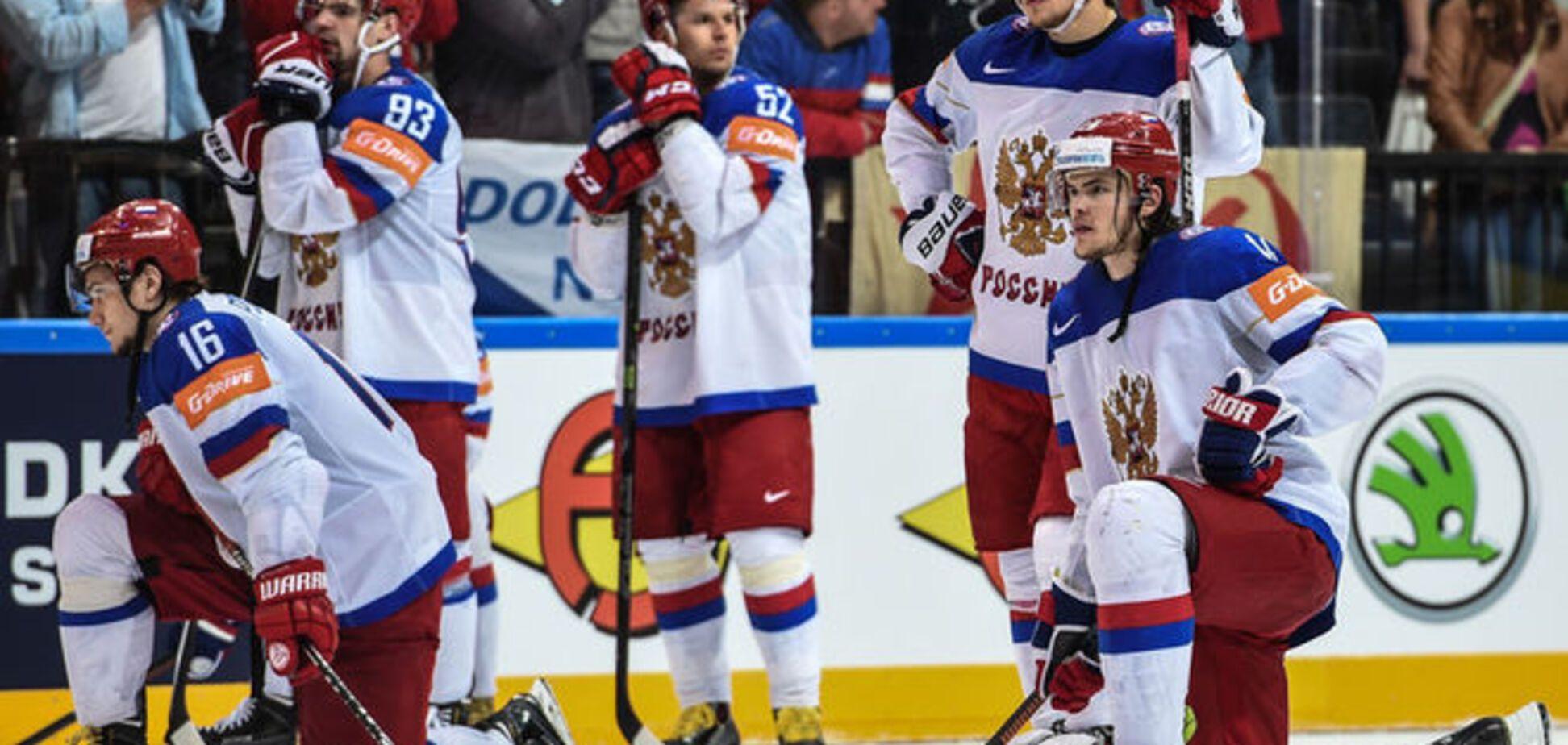 Три позора сборной России
