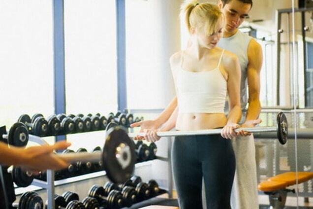 знакомства с парнями на тренировке