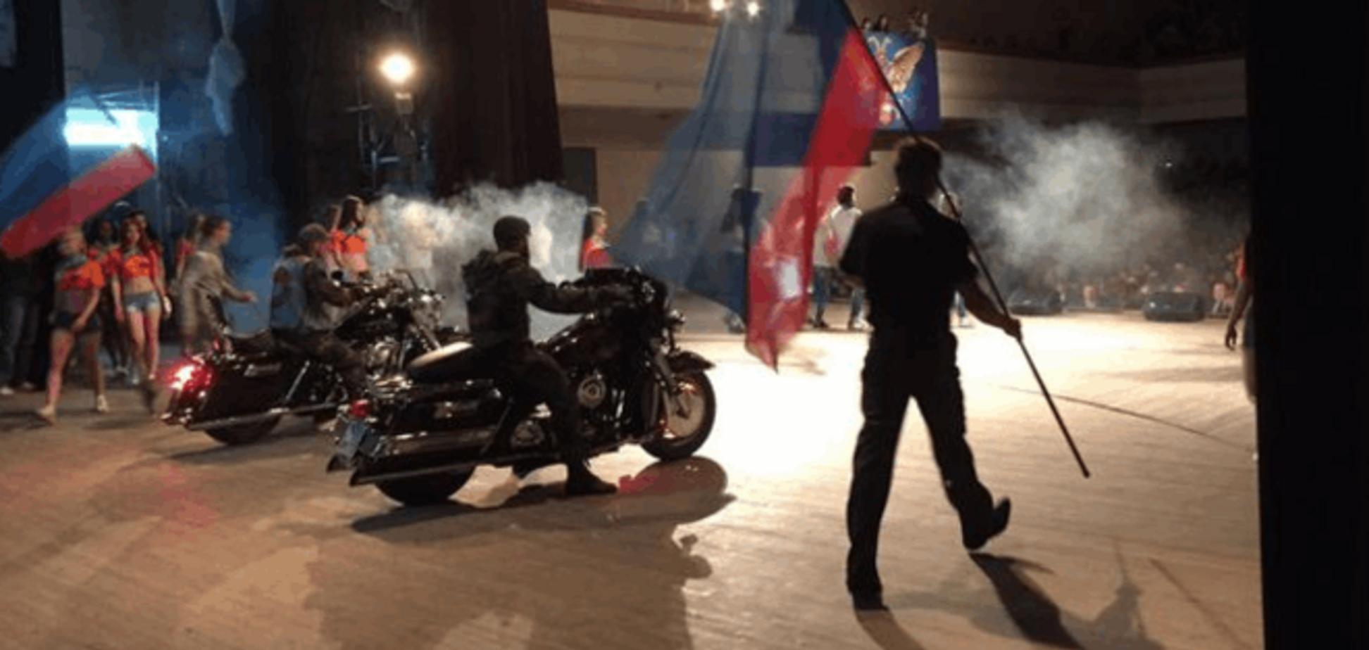 Бенкет під час чуми: терористи з 'Нічними вовками' вибирають 'Міс' ЛНР '