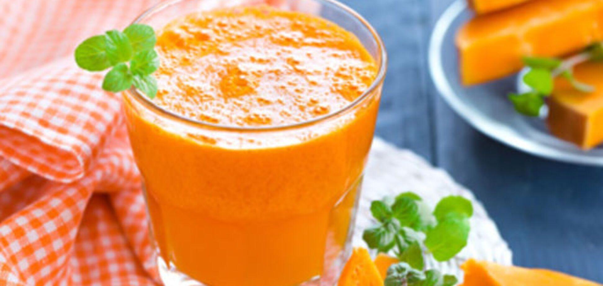 Простой и полезный рецепт тыквенного сока