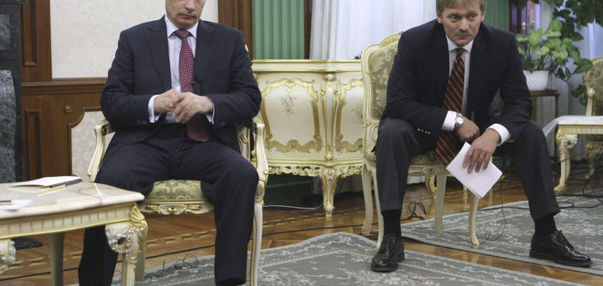 В Кремле назвали 'пленными' задержанных в Украине ГРУшников