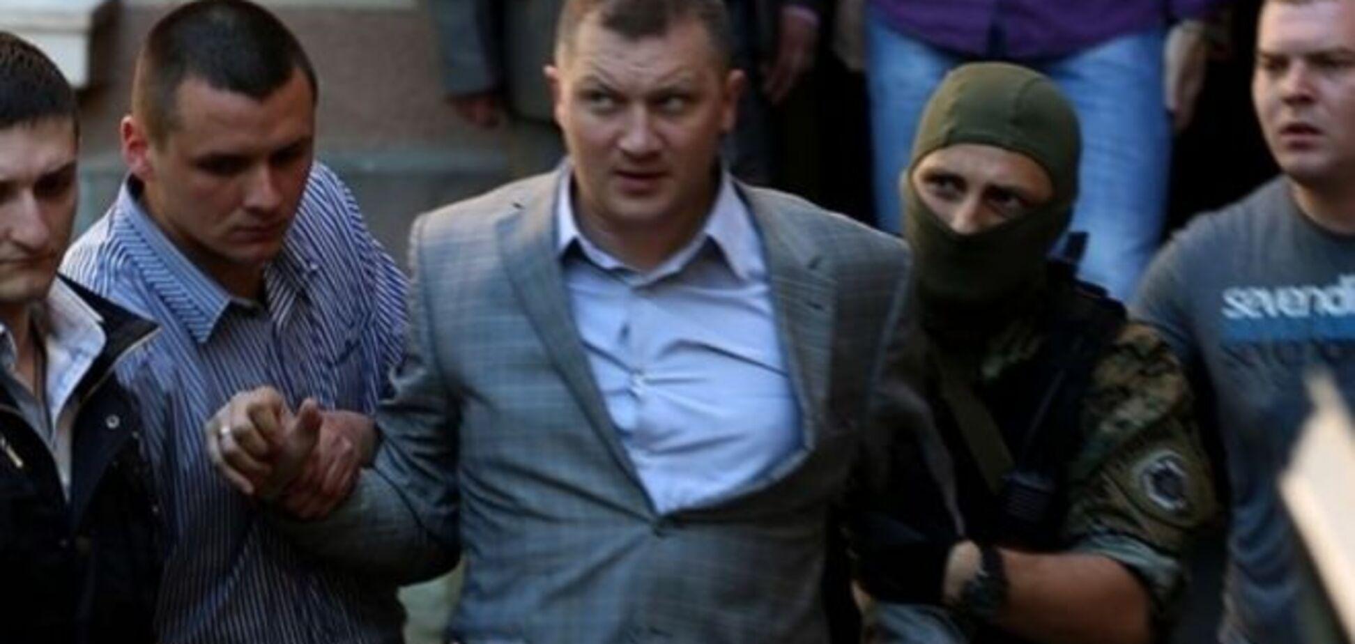 Задержанного за взятку заммэра Тернополя отпустили за 97 тыс. грн