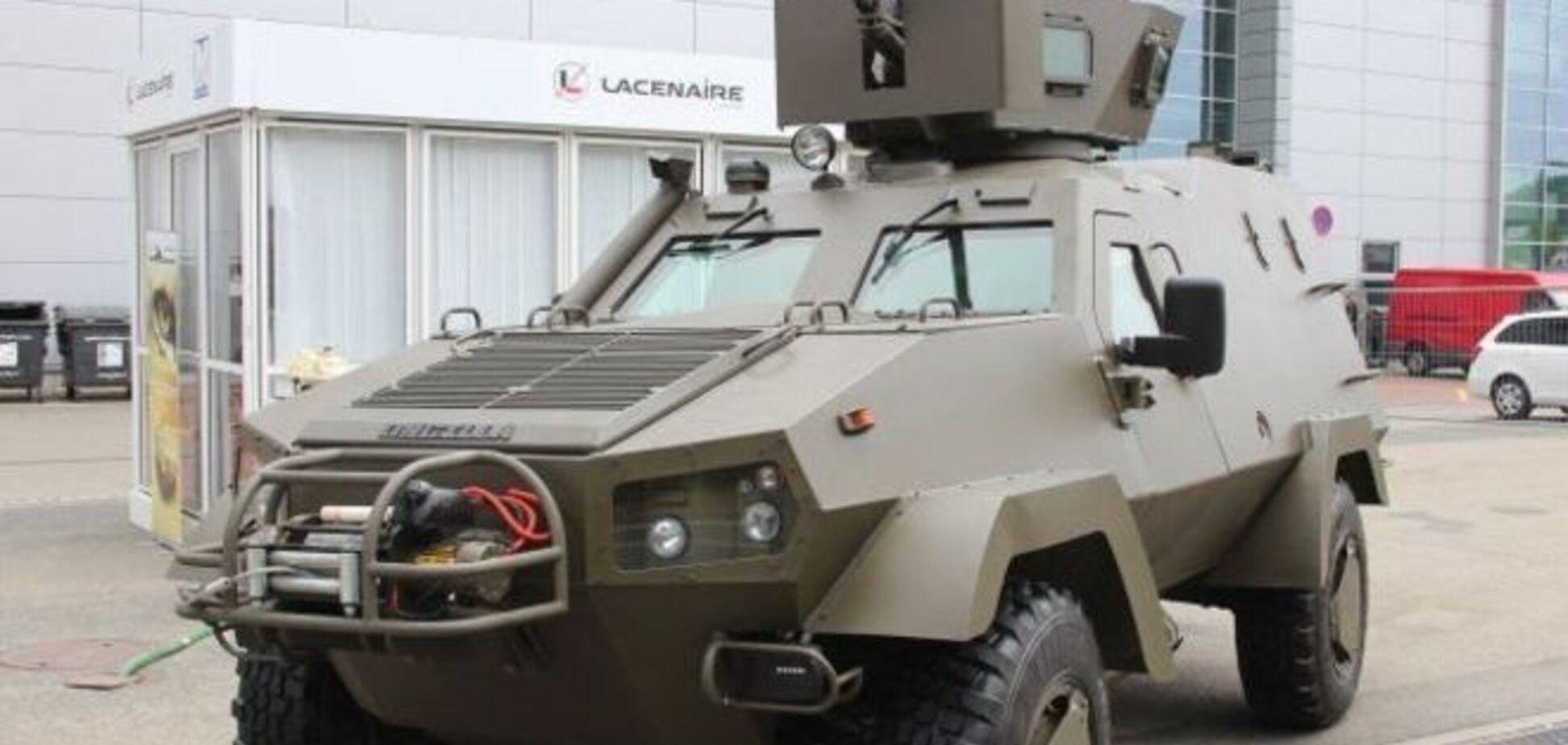 В Чехии показали модернизированный украинско-польский броневик 'Онцилла': опубликованы фото