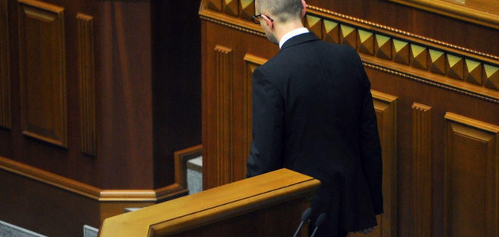 Мораторий на долги: Кабмин Яценюка уже давно обанкротился