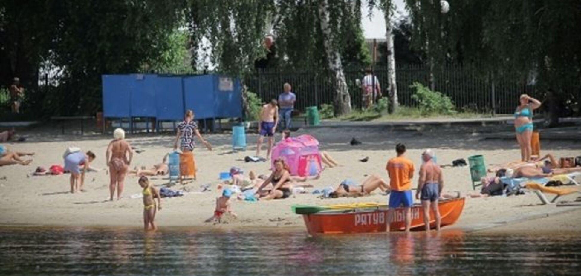 В Киеве утонул мужчина: рейтинг самых опасных мест для купания