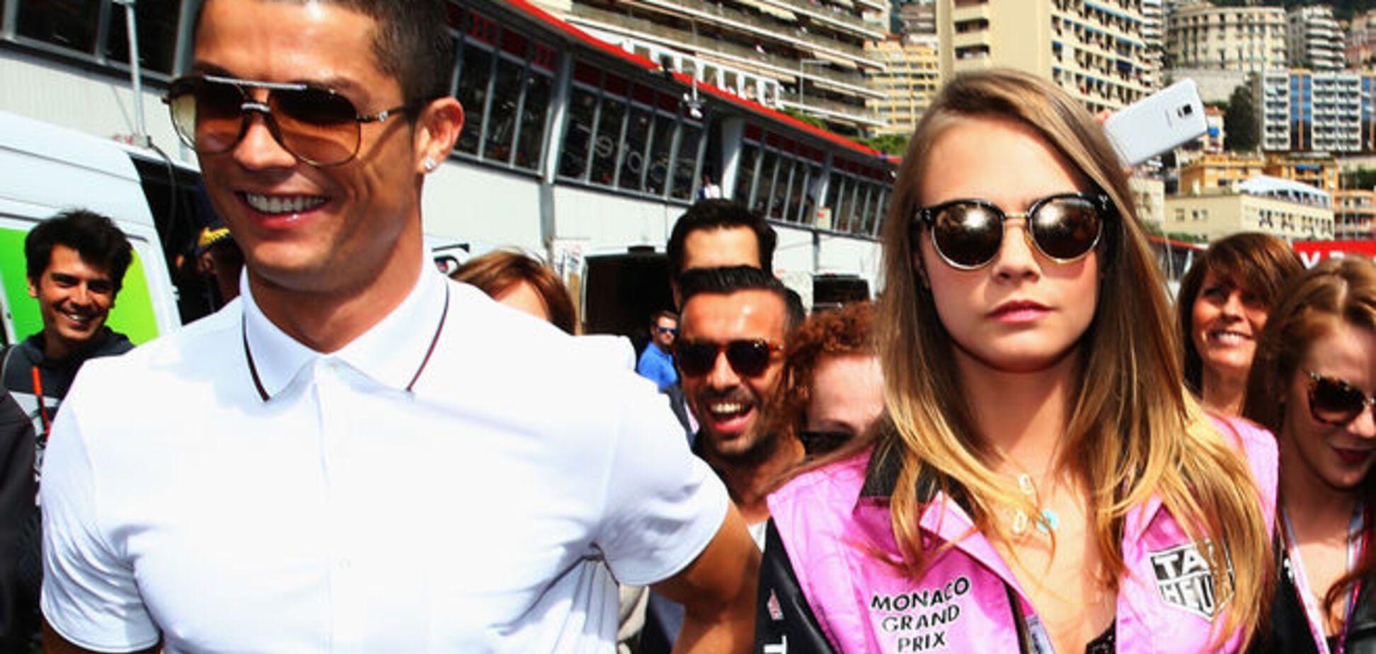 Криштиану Роналду засветился с новой пассией: яркие фото