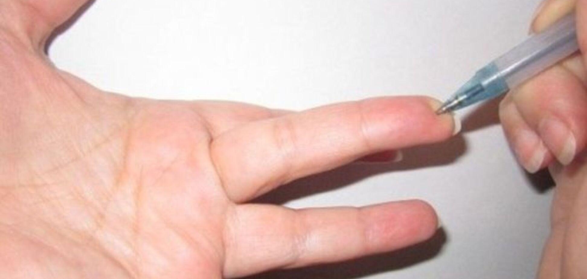 Особая точка на пальце, которая резко снижает давление