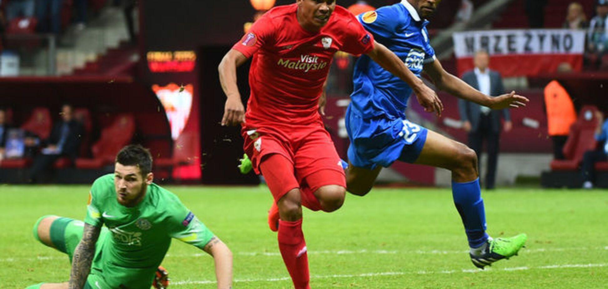 'Днепр' проиграл 'Севилье' в финале Лиги Европы