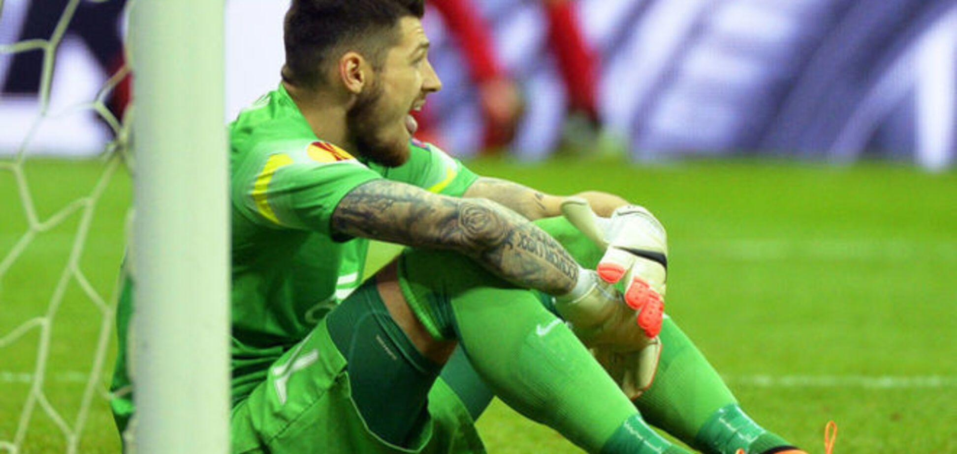 Герой 'Днепра' не стал оправдываться за поражение в финале Лиги Европы