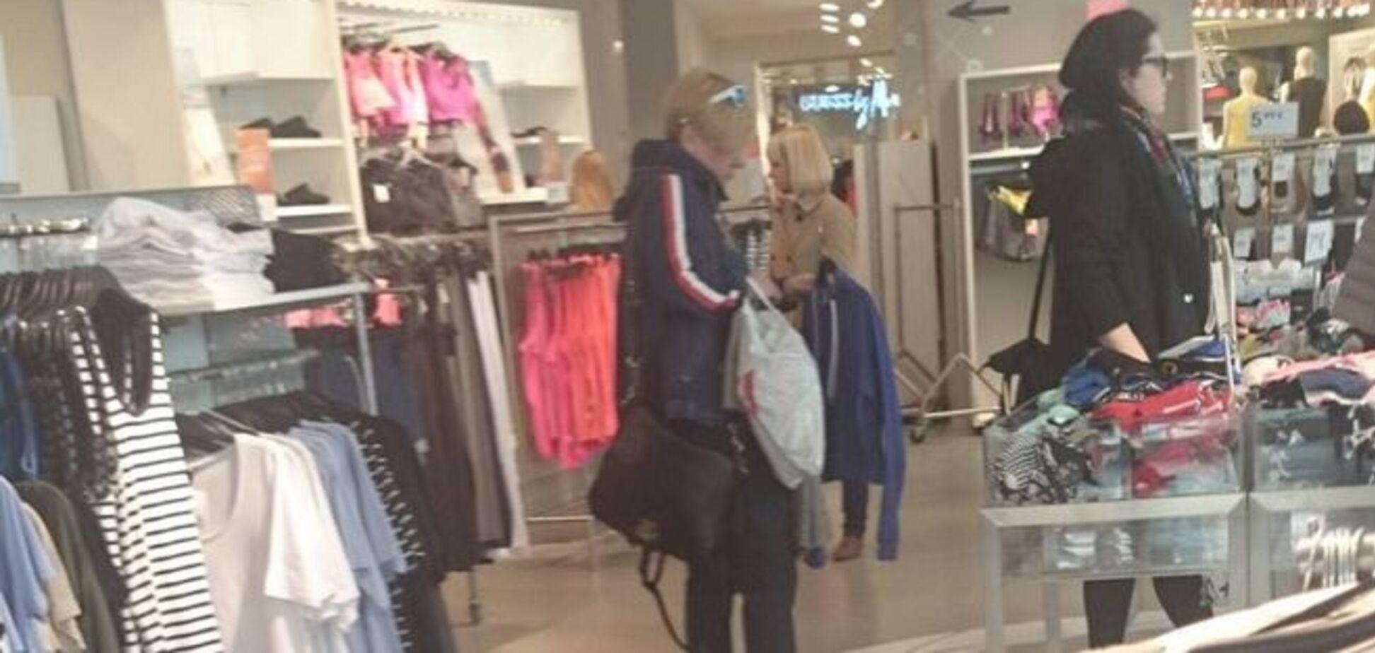 Гонтарева пошла на шопинг в Риге потому, что замерзла
