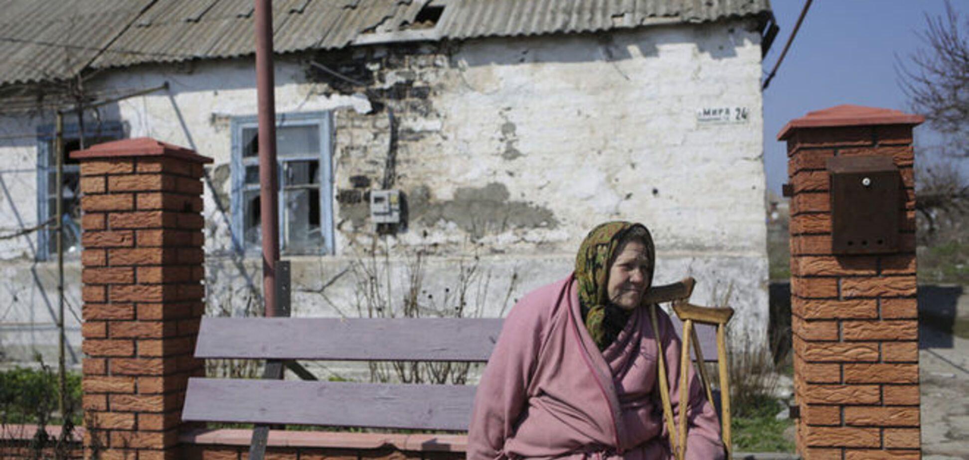 Минометы, гранатометы и зенитки террористов стреляли по Широкино